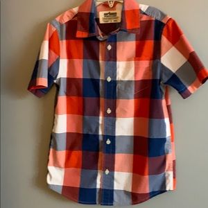 Boys Urban Pipeline plaid button up